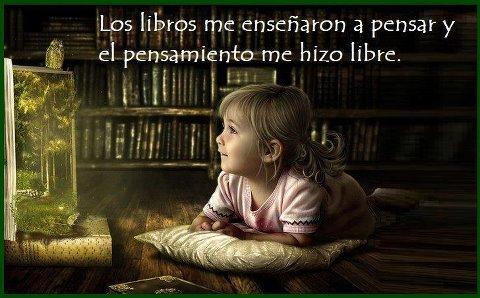los libros...pensar...libre