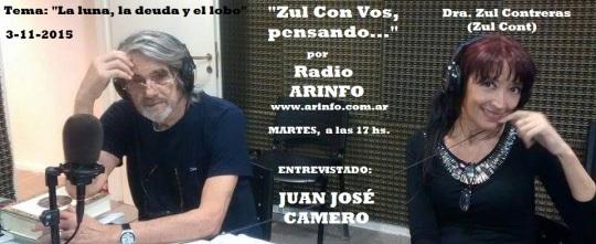 Juan José Camero con Zul radio3